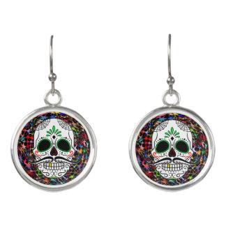 Skull20170396 Earrings