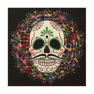 Skull20170396 Wood Wall Art