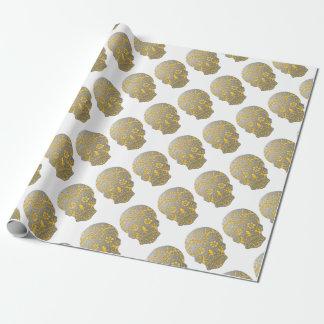 Skull2MetalFire Wrapping Paper