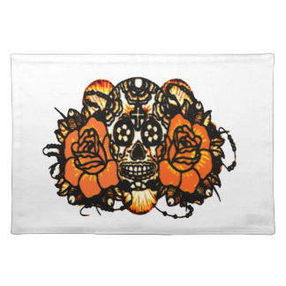 Skull 1 placemat