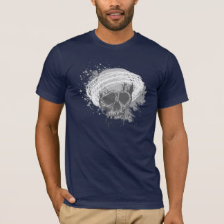 skull.2 grey design T-Shirt