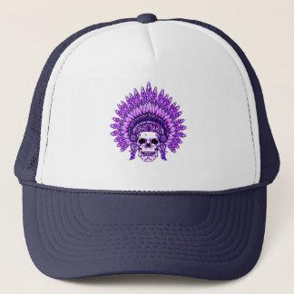 Skull 3 trucker hat