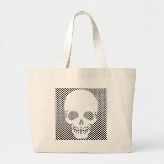 skull 4 jumbo tote bag