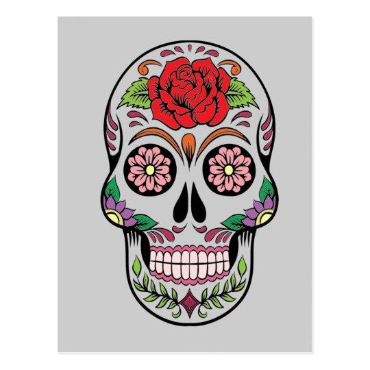Skull 5 postcard