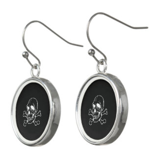Skull 816 (Halloween) Earrings