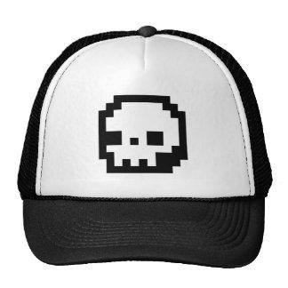 Skull 8-bit Pixel Art Hat