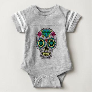 Skull Abstract Baby Bodysuit
