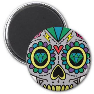 Skull Abstract Magnet