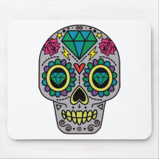 Skull Abstract Mouse Pad