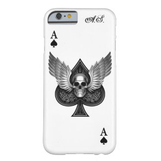 Skull Ace of Spades iPhone 6 Case