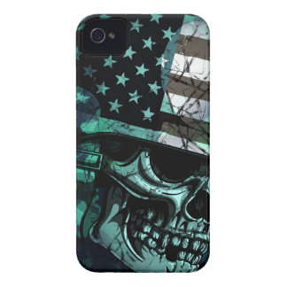 Skull America Soldier Dead Zombie Case-Mate iPhone 4 Case