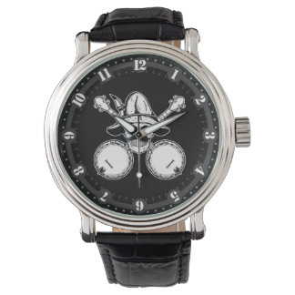Skull and Banjos Wristwatches