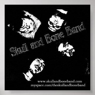 Skull and Bone Band poster