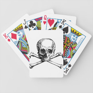 Skull and Bones Bicycle Playing Cards
