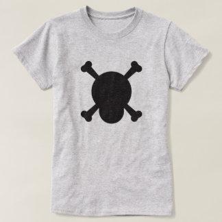 Skull and Bones black symbol T-Shirt