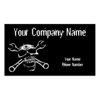 Skull and Bones Business Cards