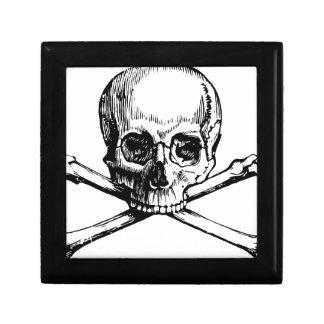 Skull and Bones Gift Box
