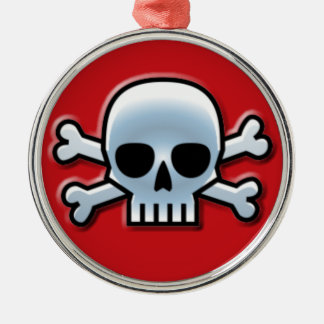 Skull and Bones Holiday Ornament