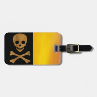 Skull and Bones Luggage Tag