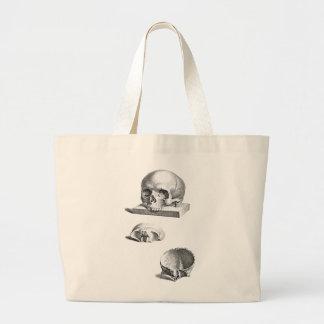 Skull and Bones Orthopedic Drawing Jumbo Tote Bag