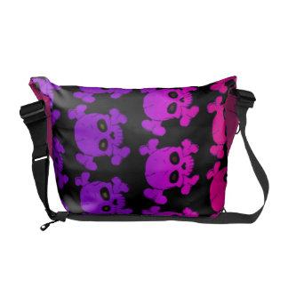 Skull and Bones Pattern Messenger Bags