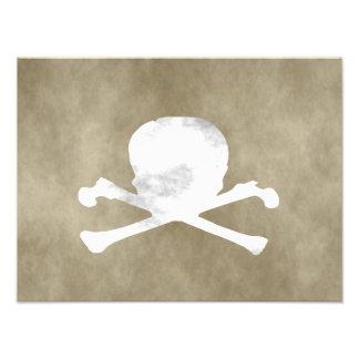 Skull and Bones Photograph