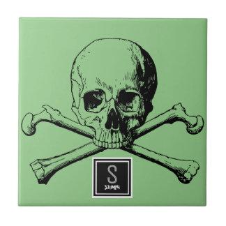 skull and boneS Tile