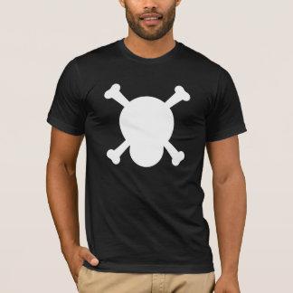 Skull and Bones white symbol T-Shirt