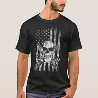 Skull and Chainsaws T-Shirt