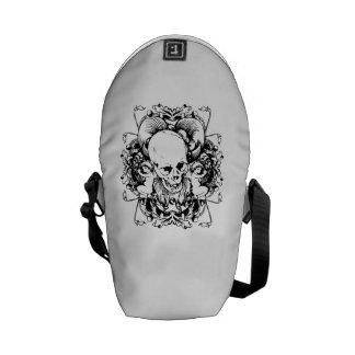 Skull And Cherubs Messenger Bag