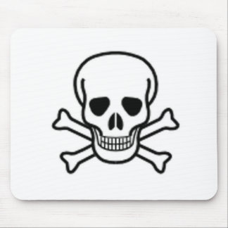 Skull and Cross-bones Mouse Pad