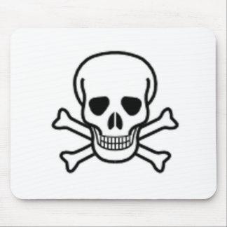 Skull and Cross-bones Mousepad