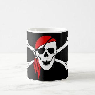 Skull and Cross Bones Pirate Magic Mug