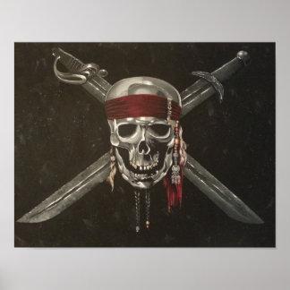 Skull and Cross Bones Print