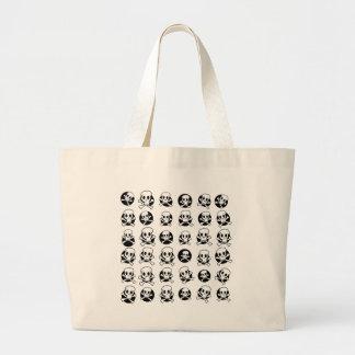 Skull and CrossBone Jumbo Tote Bag
