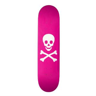 Skull and Crossbones 18.1 Cm Old School Skateboard Deck