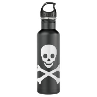 Skull and Crossbones 710 Ml Water Bottle