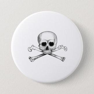 Skull and Crossbones 7.5 Cm Round Badge