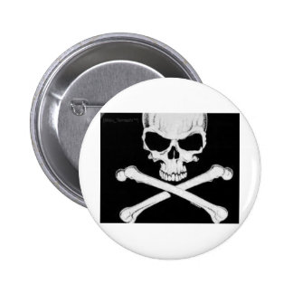 SKULL AND CROSSBONES BUTTONS
