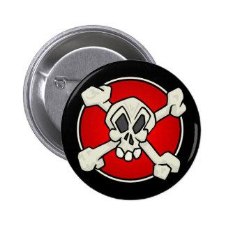 Skull and Crossbones Button