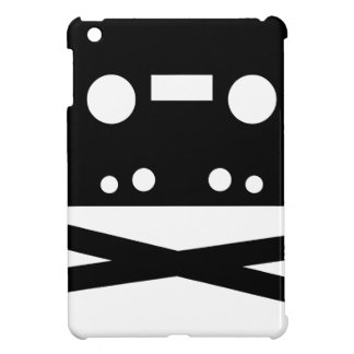 SKULL AND CROSSBONES CASSETTE TAPE iPad MINI COVERS