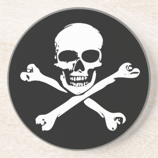 Skull and Crossbones Coaster