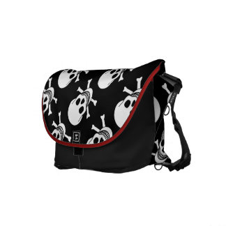 Skull and Crossbones Commuter Bags