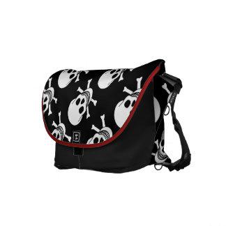 Skull and Crossbones Commuter Bags