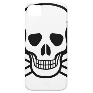 Skull and Crossbones death symbol iPhone 5 Case