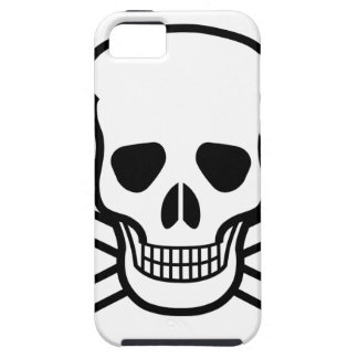 Skull and Crossbones death symbol iPhone 5 Cases