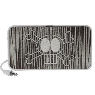 Skull and Crossbones Doodle Speaker