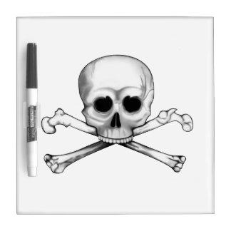 Skull and Crossbones Dry Erase Board