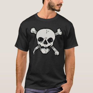SKULL AND CROSSBONES GRAPHIC TEE