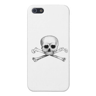Skull and Crossbones iPhone 5/5S Cover
